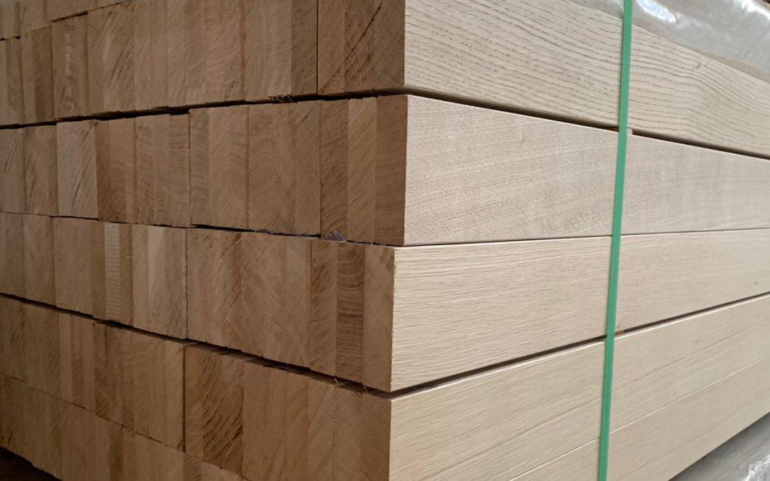 Oak laminated / fingerjoint